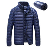 Mens Autumn Winter Duck Down Jacket Ultra light Men Coat Waterproof Coat 5XL 6XL