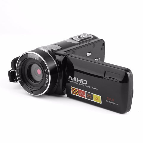 Portable Night Vision Touchscreen Digital Video Camera Camcorder