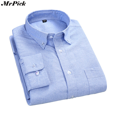 100% Cotton Oxford  Dress Shirts Long Sleeve