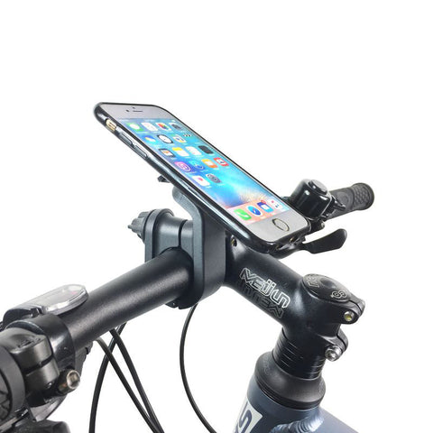 Bicycle Stem Cap Phone Holder