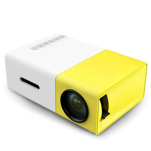 LCD LED Portable Projector Mini 400-600LM 1080p Video 320 x 240 Pixel