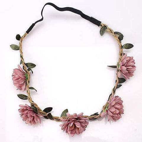 Women Wedding Flower Headband Girls  Flowers Headwear Children Headbands
