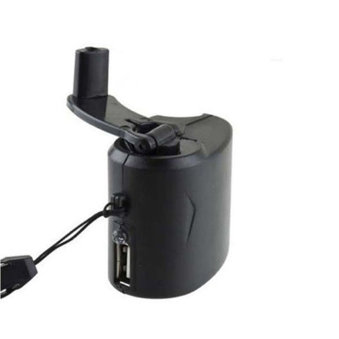 EDC USB  Emergency Phone Charger For Camping Hiking Hand Crank Survival