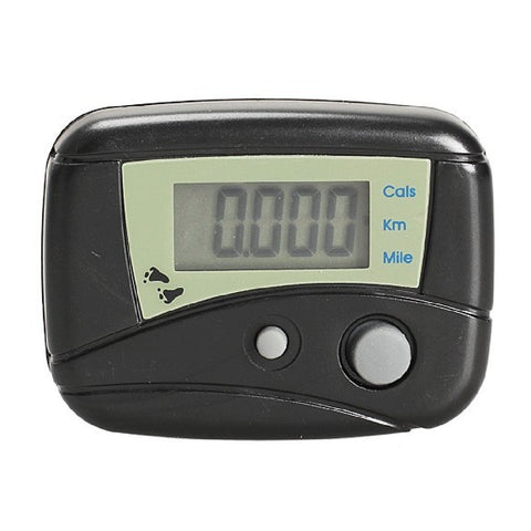Digital LCD Run Step Distance Pedometer Walking Calorie Counter Clip-on