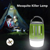Portable Mosquito Killer Lamp USB Rechargeable Waterproof