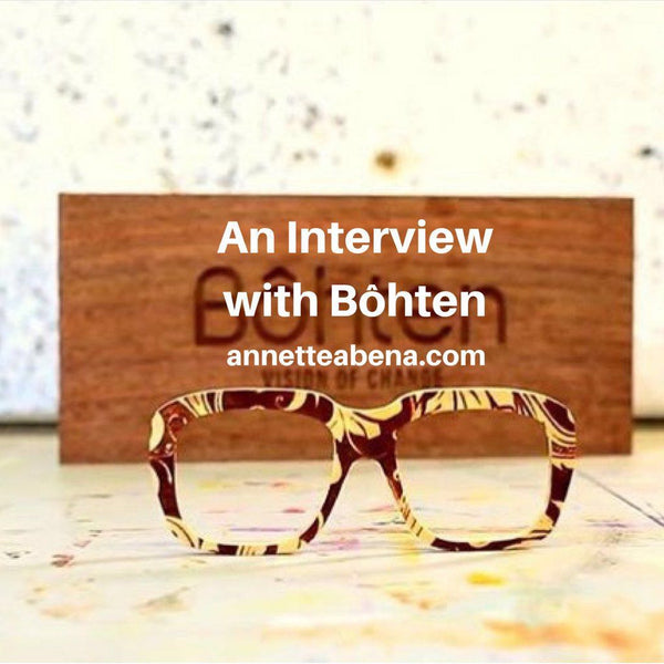 The Fashionomics Series | Bôhten Eyewear