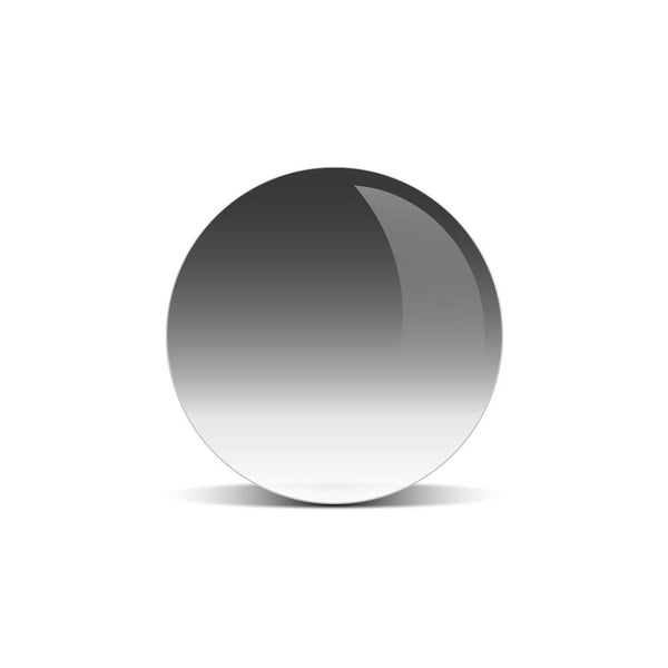 Dark Grey Gradient Lens