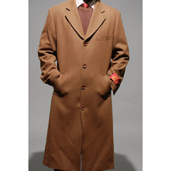 Mantoni Men's Chestnut Wool and Cashmere Topcoat.. CALL IN FOR BLACK !!!!!!