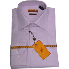 Enzo Tovare Men's Lavender Dress Shirt