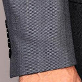 Mantoni Men's Gray 2-Button Wool Sport Coat