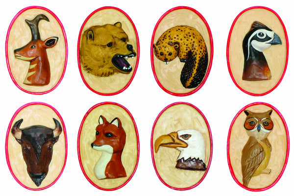 Resin Critter Neckerchief Slides