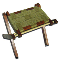 Folding Camp Seat Kit with Jute