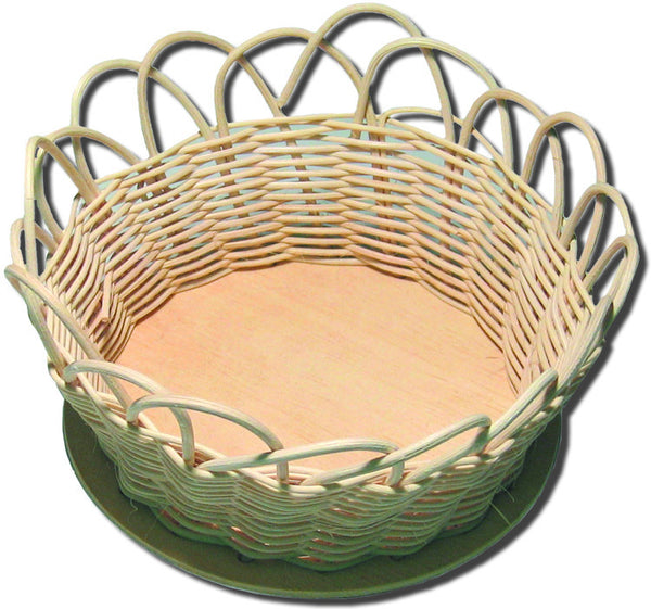 Basket Kit 5in Round Reed