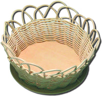 Basket Kit 5in Round Round Reed (Bulk Pack)