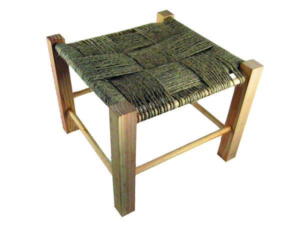 Camp Foot Stool Kit with Jute