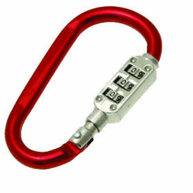 Combination Locking Carabiner