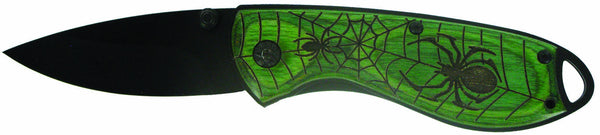 Green Spider Knife