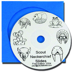 Neckerchief Slide Design Collection CD