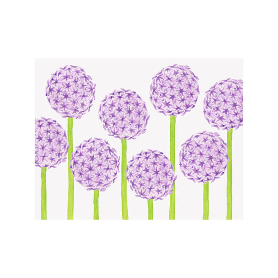 Allium Note Cards