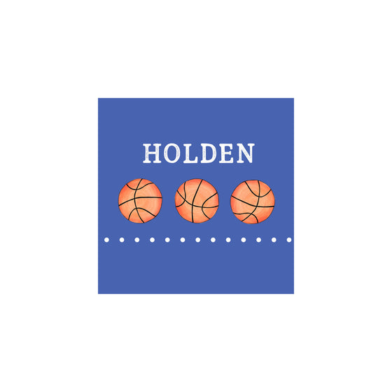 Basketball Gift Tags & Stickers