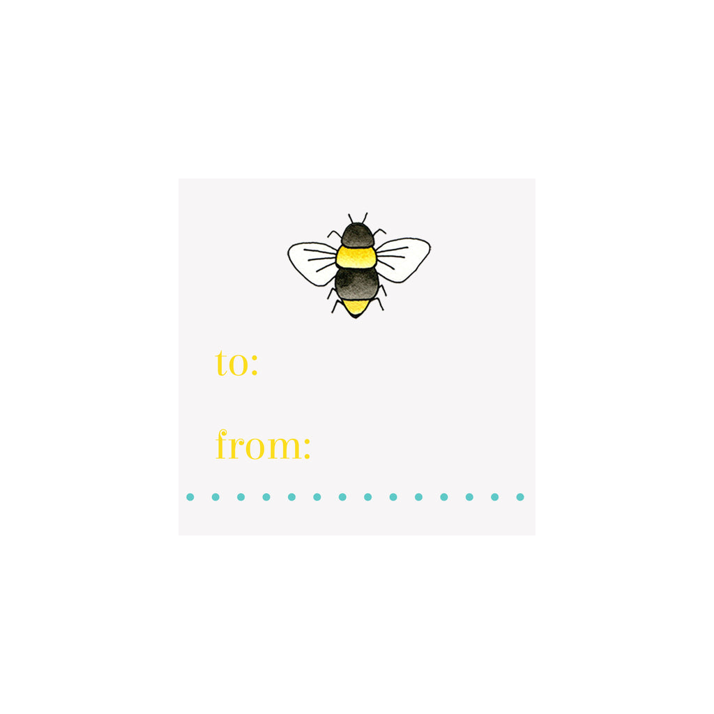 Bee Gift Tag