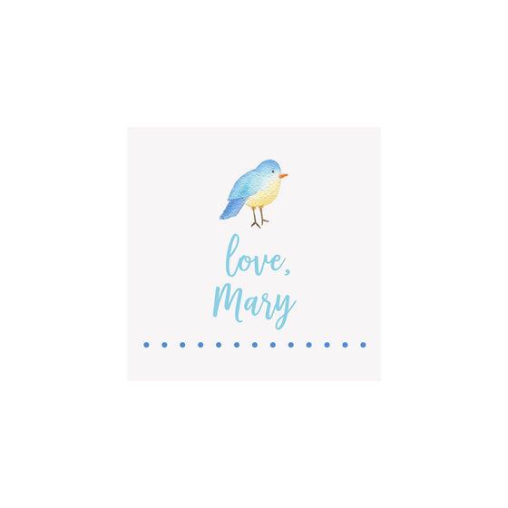 Bird Gift Tags & Stickers