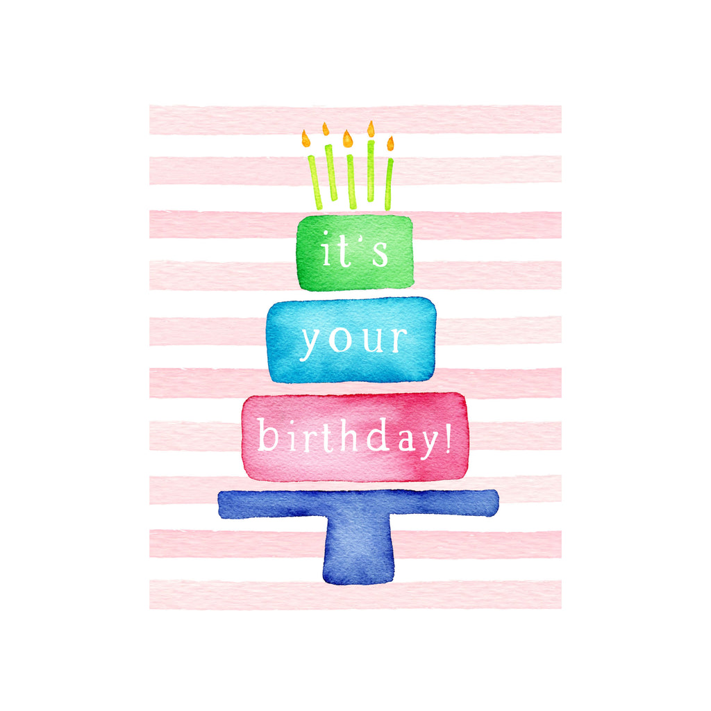 It's Your Birthday Cake Card