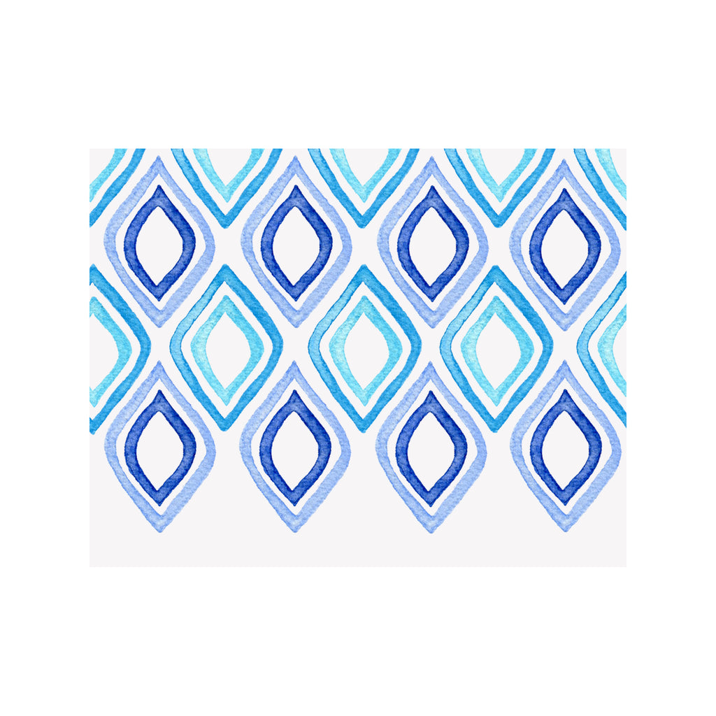 Blue Diamond Notecards