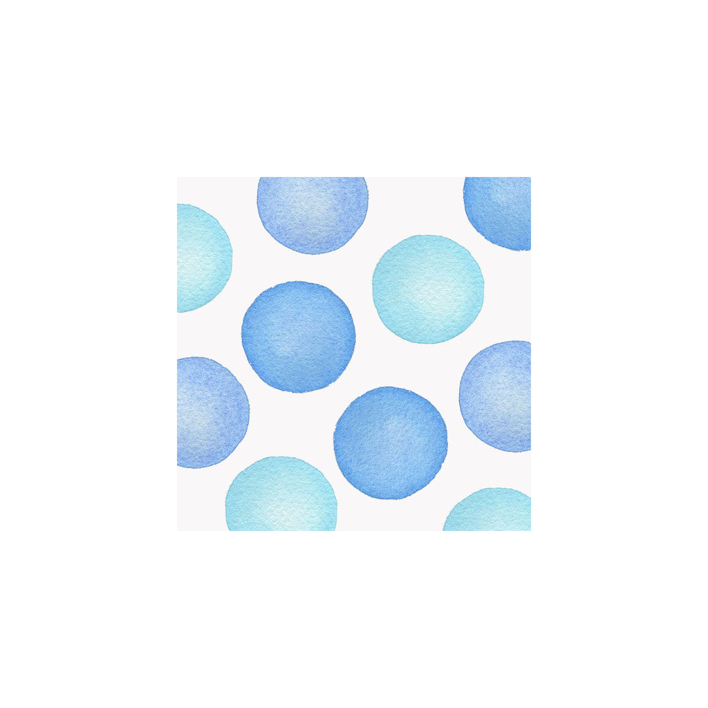 Jumbo Dots Gift Tag- Blue
