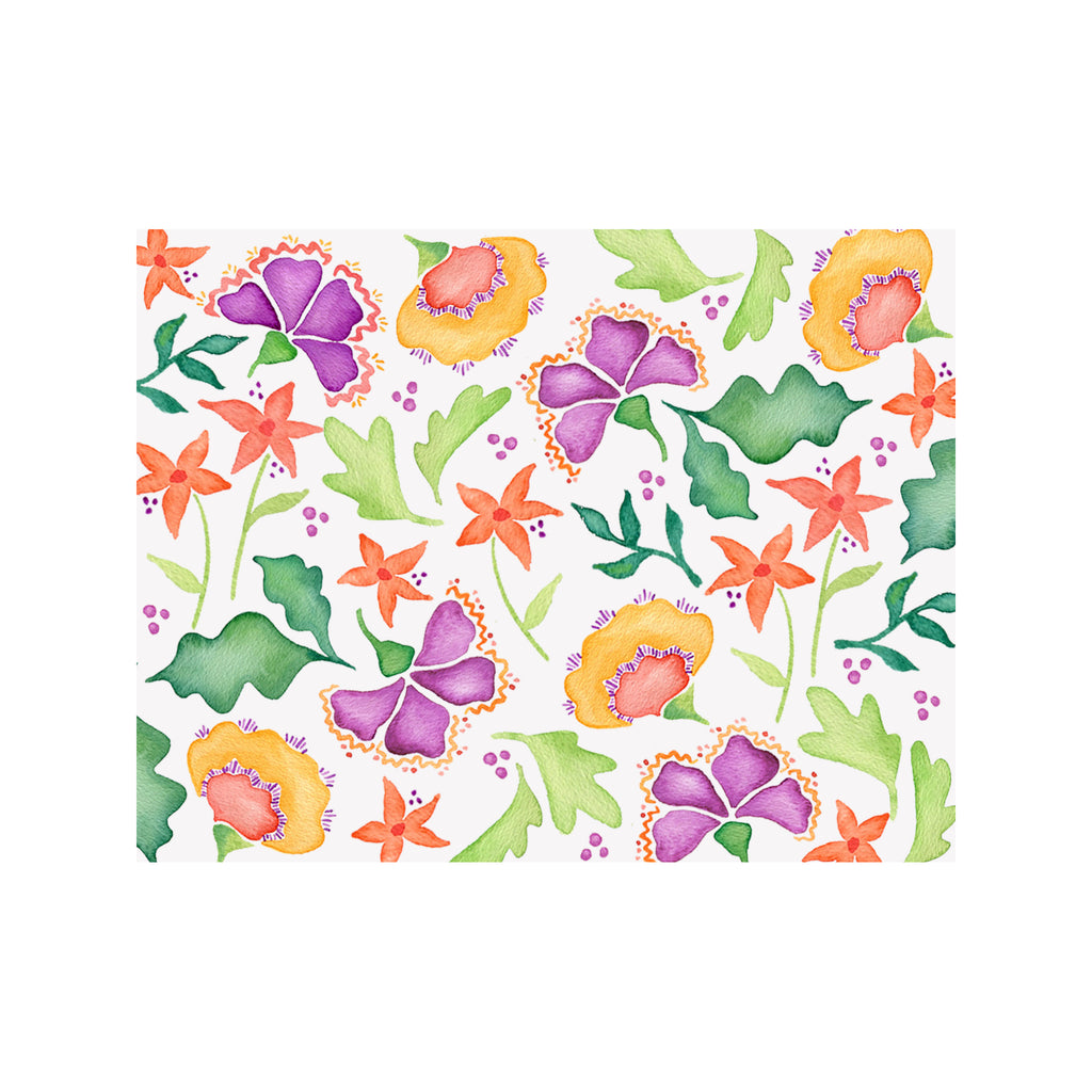 Bright Blooms Note Cards