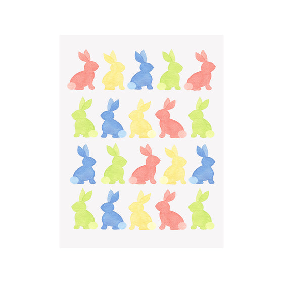 Bunnies Easter Card