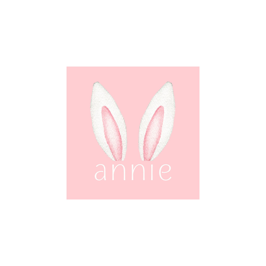 Bunny Ears Gift Tags & Stickers