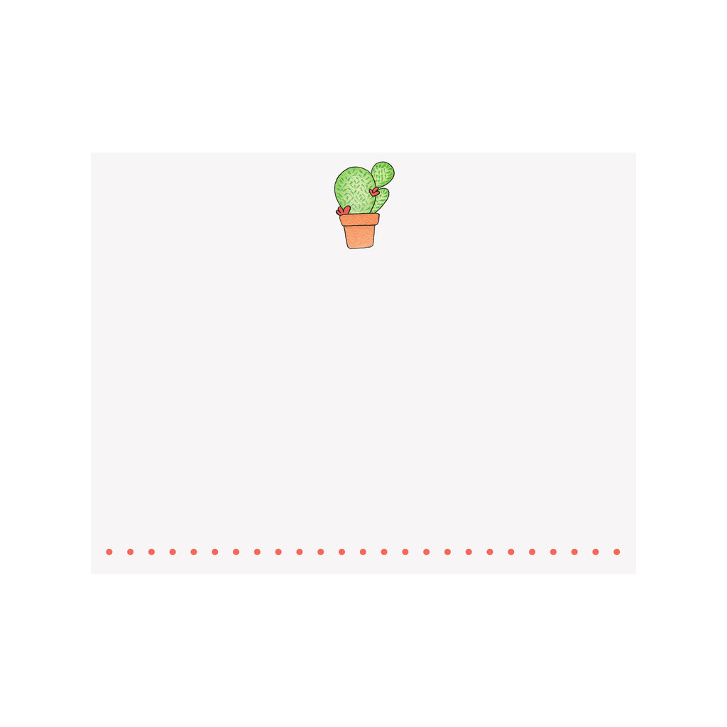 Cactus Note Card