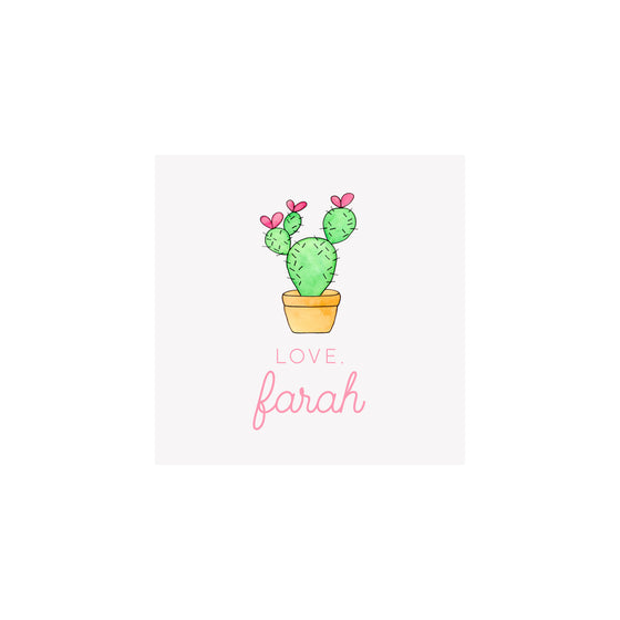 Cactus Gift Tags & Stickers