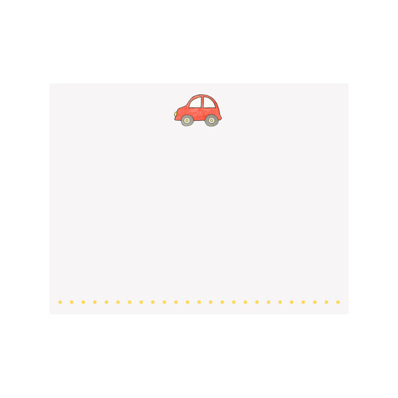 Car Note Card