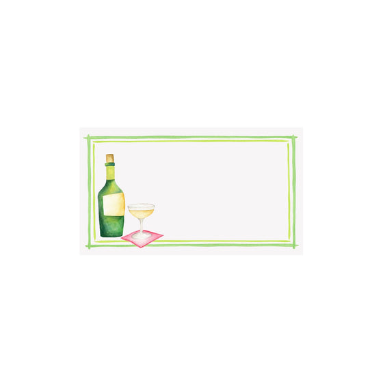 Champagne Placecard