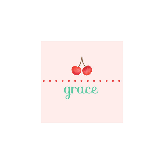 Cherry Gift Tags & Stickers