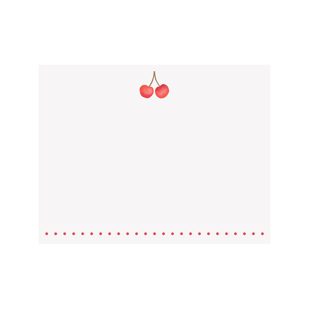 Cherry Note Card
