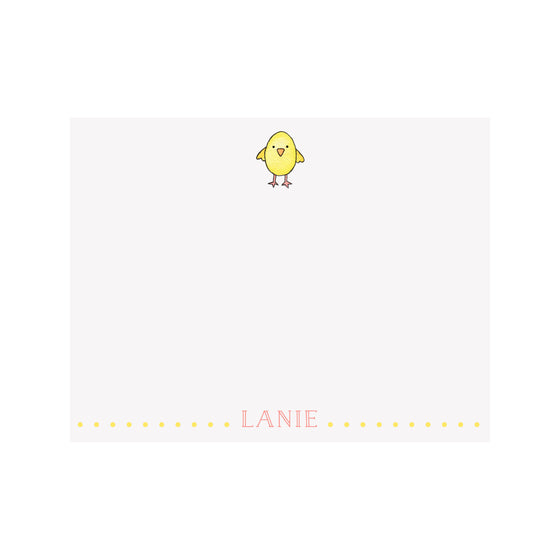 Chick Stationery