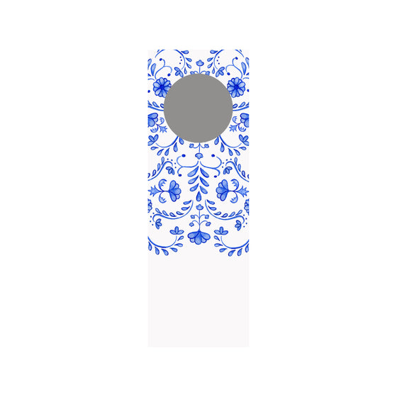 Chinoiserie Wine Tag