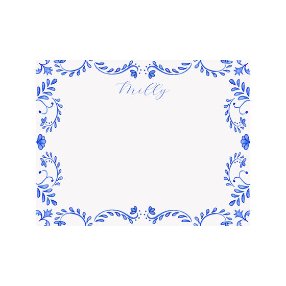 Chinoiserie Personalized Stationery