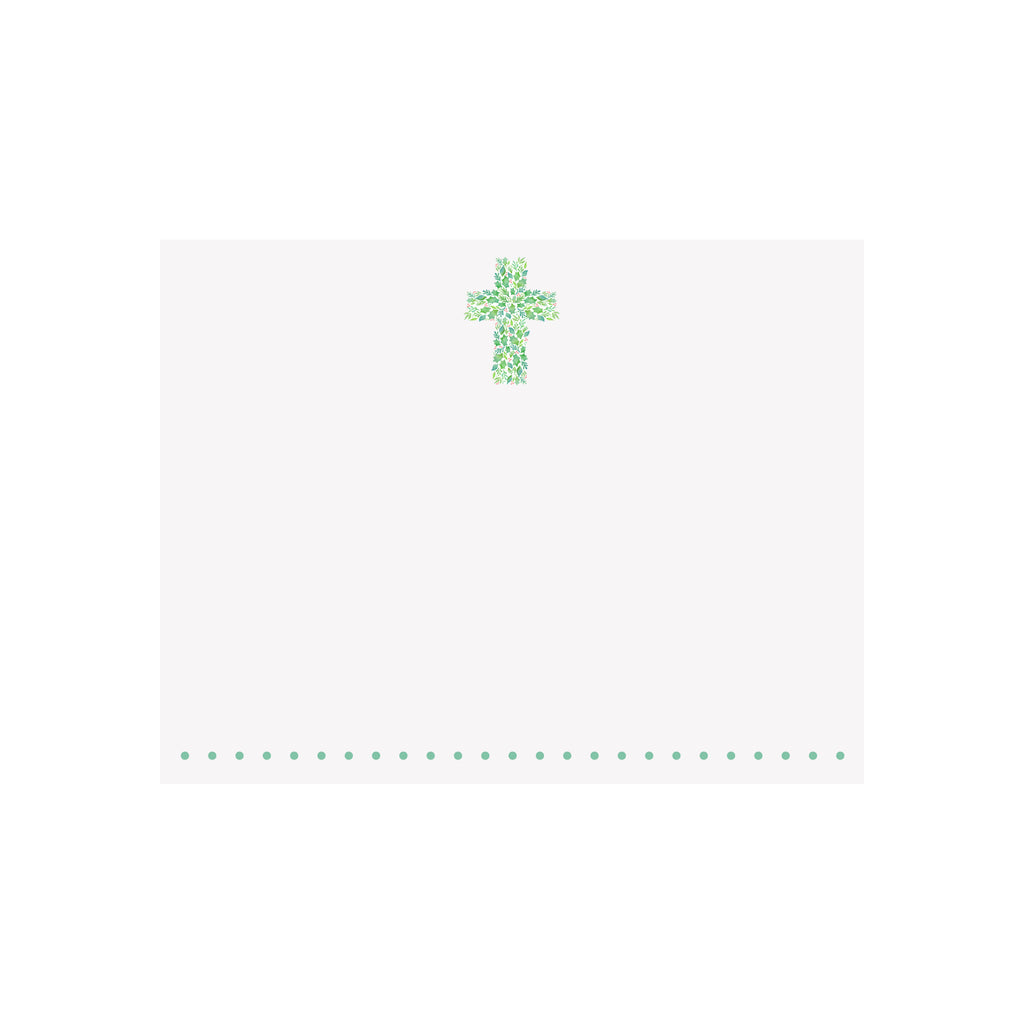 Christmas Cross Note Card