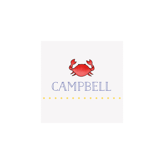Crab Gift Tags & Stickers