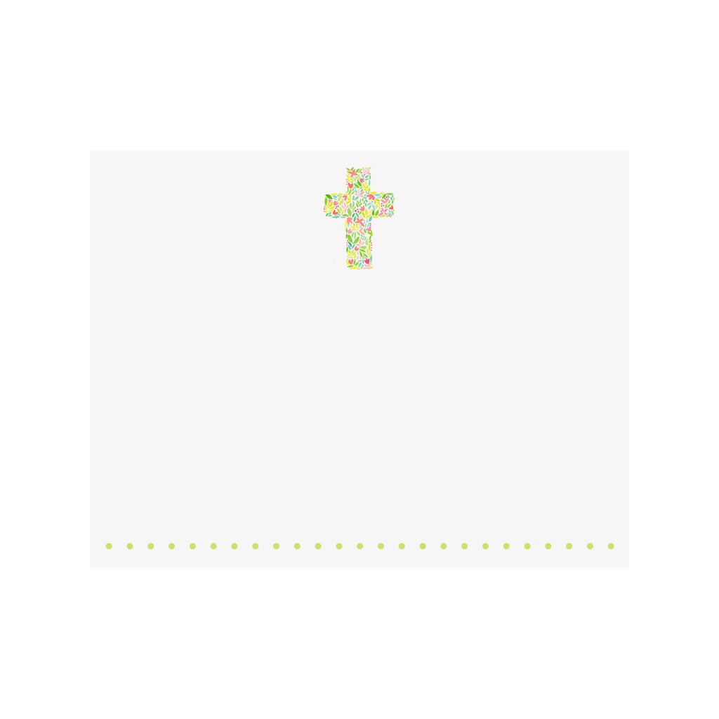 Cross Note Card