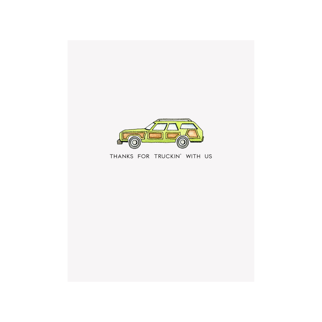 Father's Day Family Truckster Card