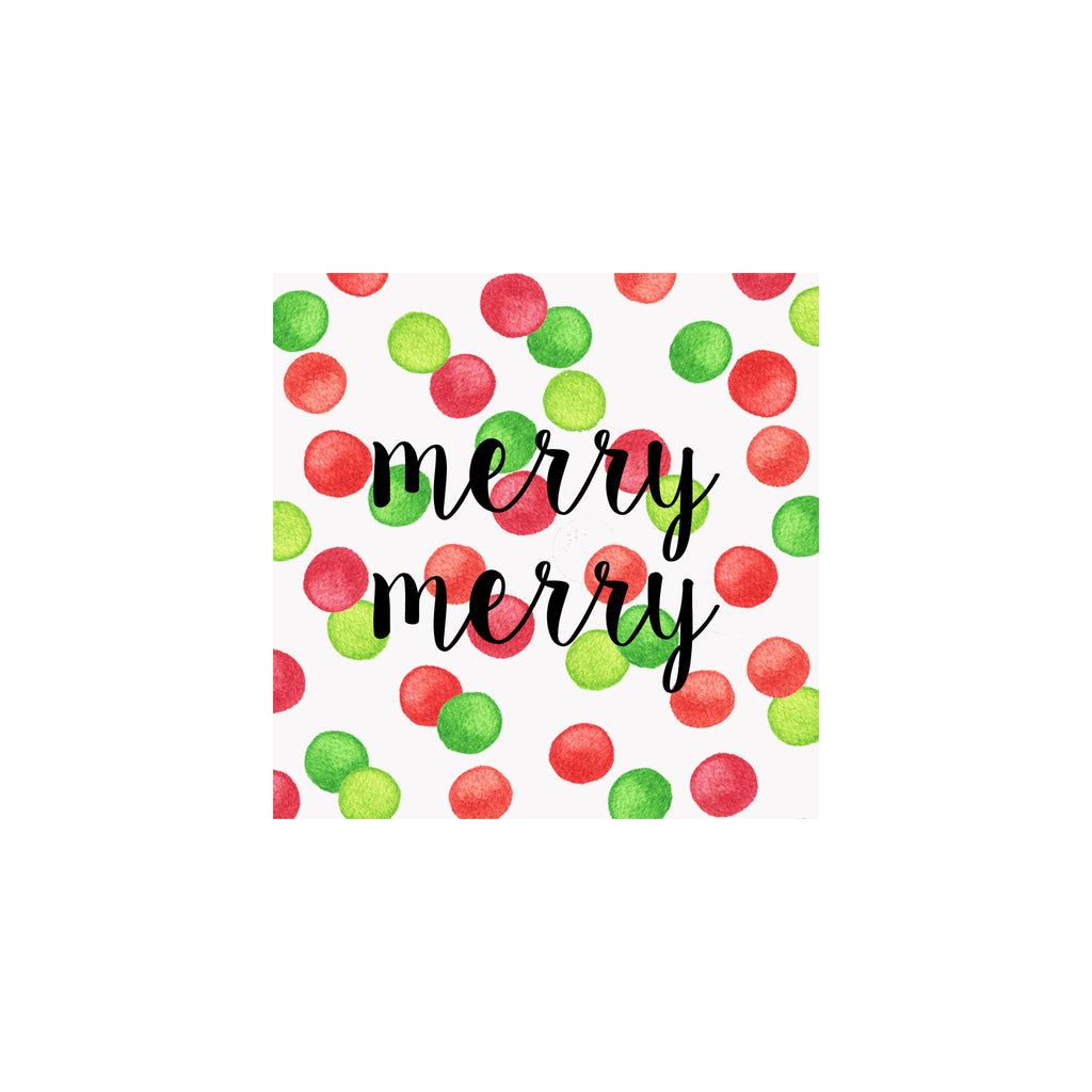 Holiday Dots Gift Tag