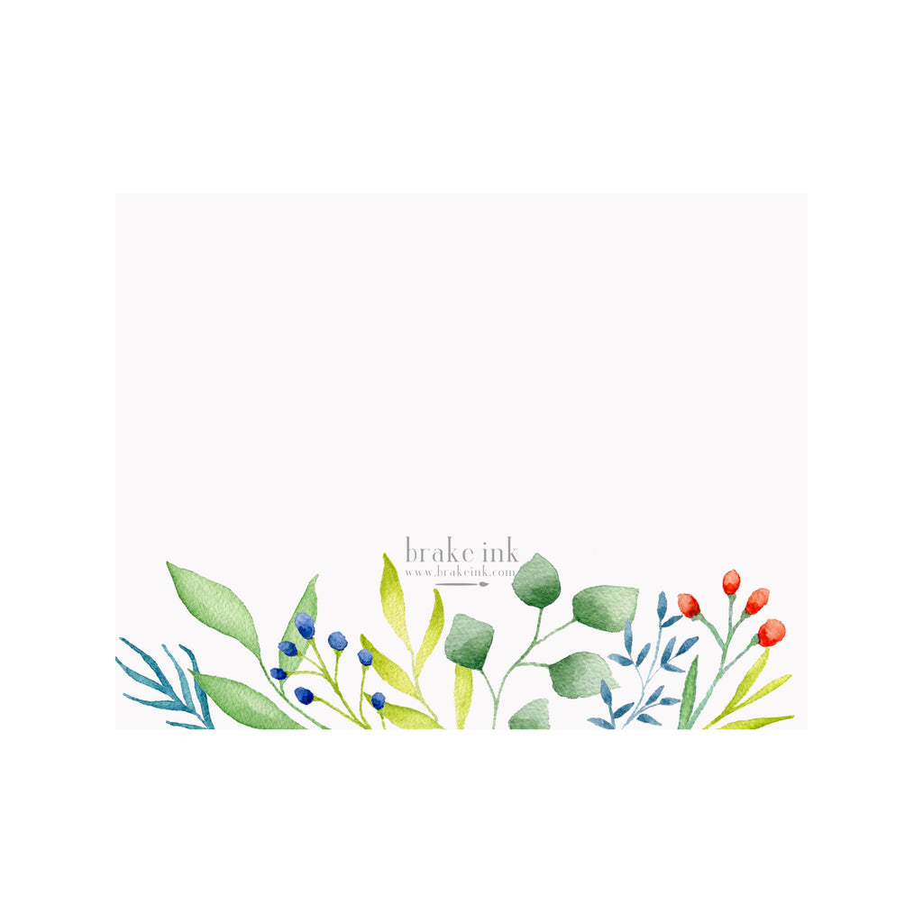 Fall Foliage Stationery- Foldover