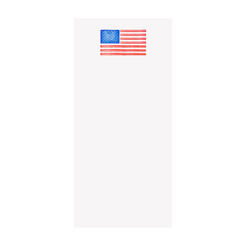 American Flag Notepad