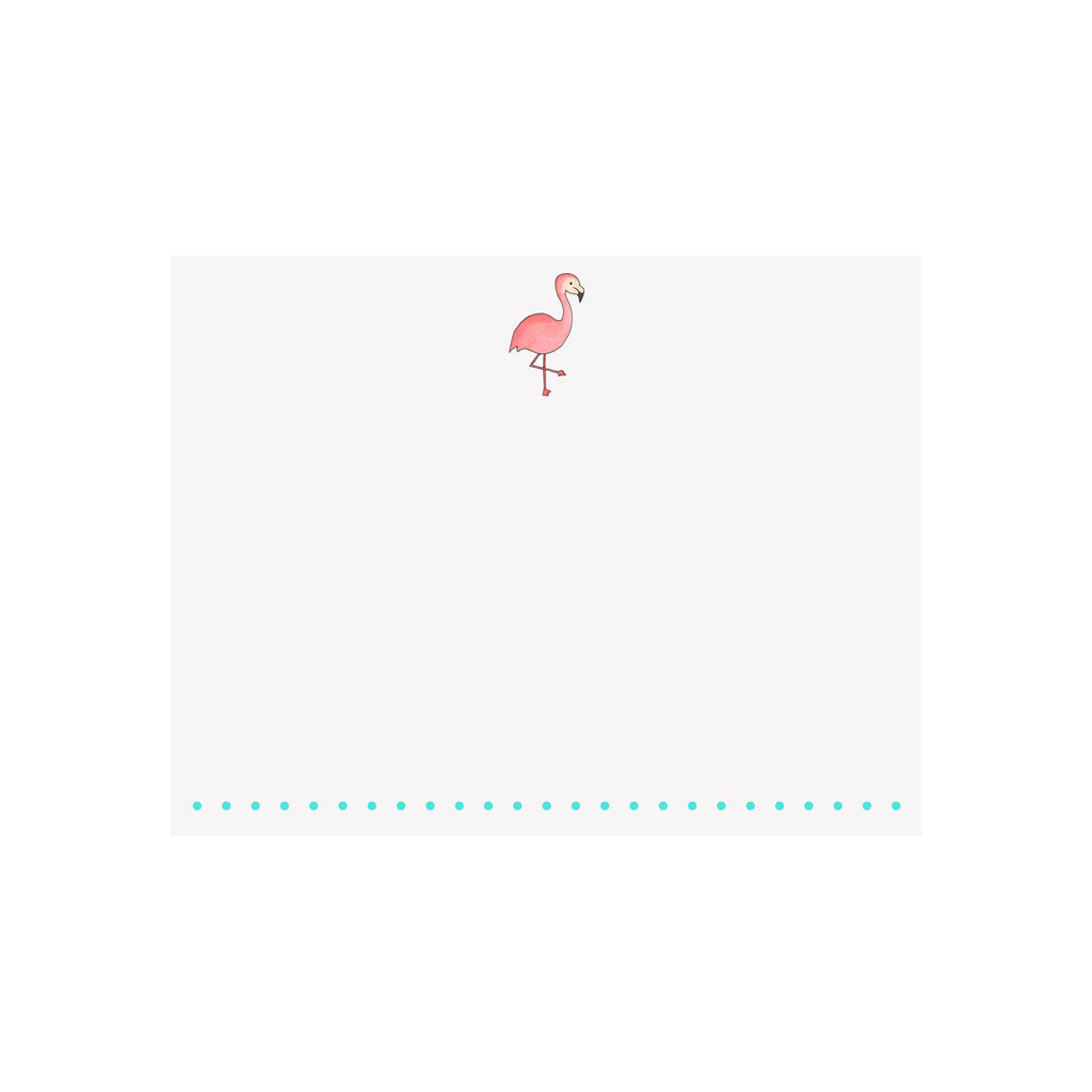 Flamingo Note Card