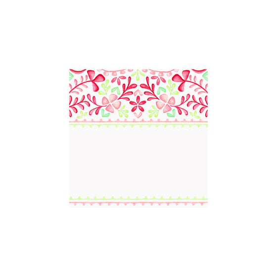 Floral fiesta Gift Tag